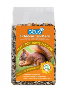 Claus Eichhörnchen-Futter 700g